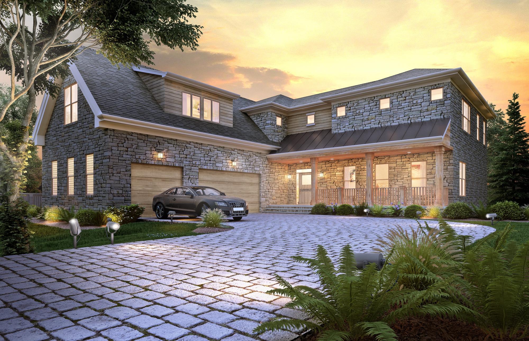 Modern Stone And Brick